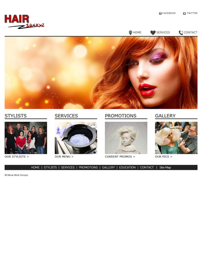 Hair Junkyz, Parker, Colorado by W3Now Web Design