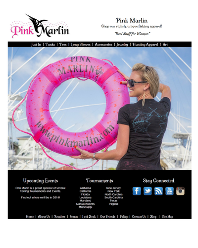 Pink Marlin in Port Aransas, Texas by W3Now Web Design